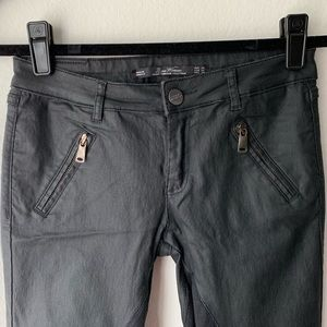 Zara Coated Jean/Pant